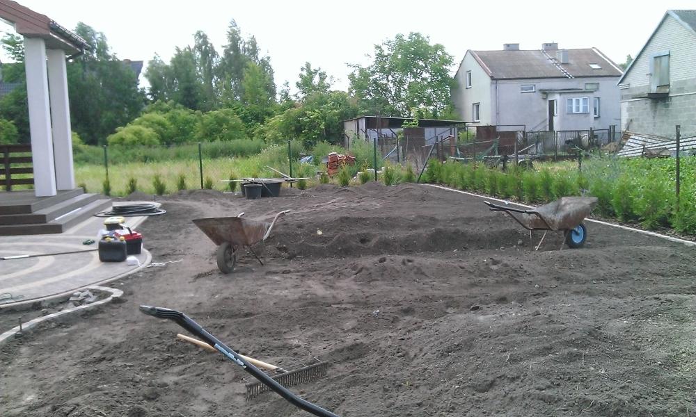 Założenie Ogrodu Od Podstaw W święcicach Fortis Ogród